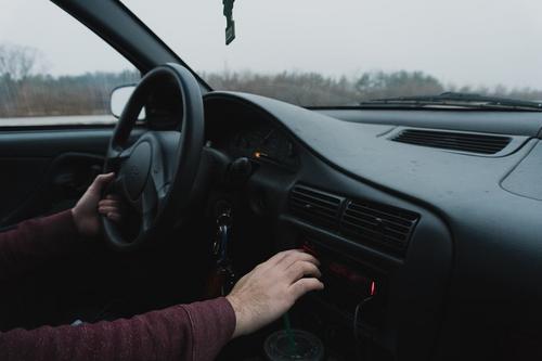 Nervosismo devido a um exame de carteira de motorista
